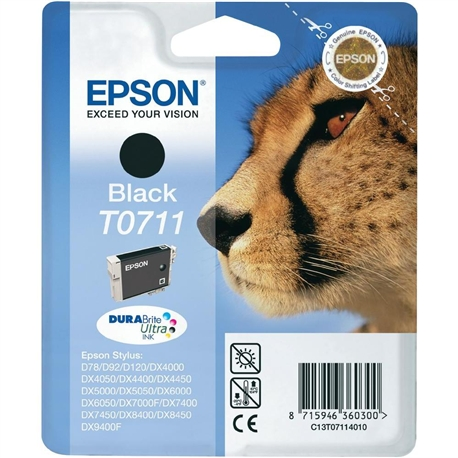Tinteiro Preto Epson Stylus D78 / DX4000/5000/6000 - T071140