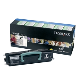 Toner Laser Lexmark X203/204 - X203A11G