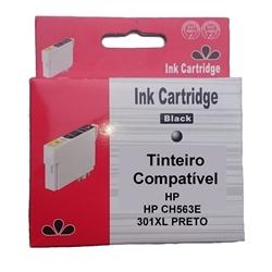 Tinteiro Genérico Preto p/ HP CH561/CH563 - 301XL P GEN_V1 - PRHPCH563E_V1