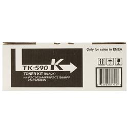 Toner Laser Kyocera FS-C5250DN - Preto - TK590K