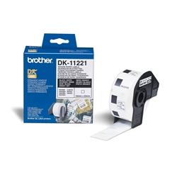 Etiquetas Brother de endereço standard 29 x 90 mm - 400 etiq - DK11201