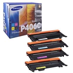 Toner Kit Laser Samsung CLP-360 - Kit 4 cores - CLTP406C