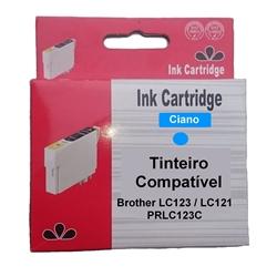 Tinteiro Comp. Cião p/ Brother LC123C/LC121C - PRLC123C