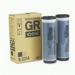 Tinta Duplicador Riso RP 3700 - Preta 2 uni. - S3380