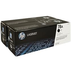 Toner Laser HP LaserJet P1606DN - Pack DUPLO - CE278AD