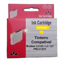 Tinteiro Comp. Amarelo p/ Brother LC123Y/LC121Y - PRLC123Y