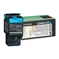 Toner Laser Lexmark C540 - Sião - 1000 K - C540A1CG
