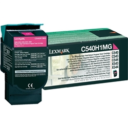 Toner Laser Lexmark C540 - Magenta 2 K - C540H1MG