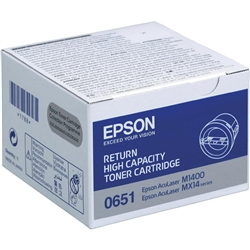 Toner Laser Epson Aculaser M1400/MX14 - 2200 cópias -Retorno - S050651