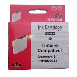 Tinteiro Genérico Preto p/ Lexmark Color 18C0034 - 34 - PR18C0034