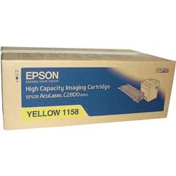 Toner Laser Epson Aculaser C2800 - Amarelo - 6000k - S051158