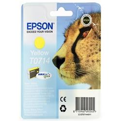 Tinteiro Amarelo Epson Stylus D78 / DX4000/5000/6000 - T071440