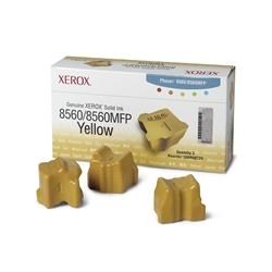 Barras Tinta Original Xerox Phaser 8560 - Amarelo - 108R00725