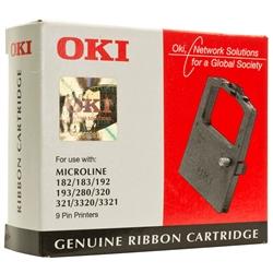 Fita Impressora Oki ML 120/182/192/320/3320/3321 - 09002303 - RIB100/320
