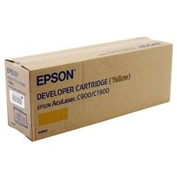 Toner Laser Epson Aculaser C900/C1900 - Amarelo -4500 cópias - S050097