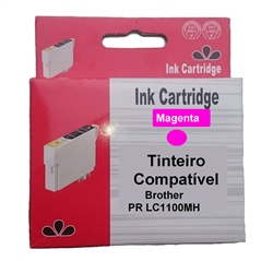 Tinteiro Magenta Brother Comp. c/ LC1100HYM/LC1100M/LC980M - PRLC1100MH