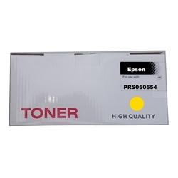 Toner Compatível Amarelo p/ Epson S050554 - PRS050554
