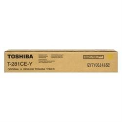 Toner Original Toshiba Studio 281C/351e - Amarelo - TOO281A