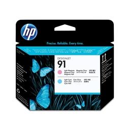 Cabeça Impressão Magenta Claro e Sião Claro HP Z6100 - 91 - HPC9462A