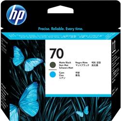 Cabeça HP DesignJet Z2100/3100/B9180 Preto Mate e Sião - 70 - HPC9404A