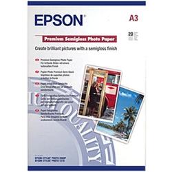 Papel Epson Foto. Semibrilhante Premium - A3 - S041334