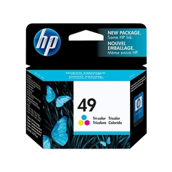 Tinteiro Cores HP DeskJet 600/610C/640C/695C - 49 - HP51649A