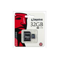 Cartão Memória Kingston Micro SDHC 32Gb - Com adaptador - SDC4/32B