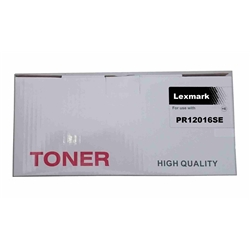 Toner Genérico Laser Lexmark p/ 12016SE - PR12016SE