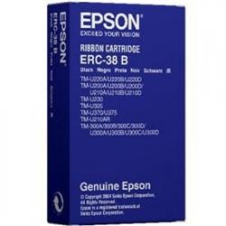 Fita Impressora Epson TM-300 Série - Preta - ERC38B