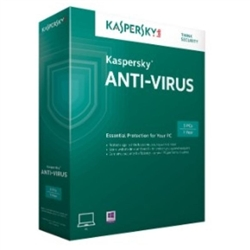 Software Kaspersky Antivirus 1 Ano 1 User - KL1161SBAFS
