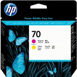 Cabeça HP DesignJet Z2100/3100/B9180 Magenta/Amarelo - 70 - HPC9406A