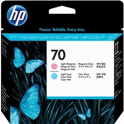 Cabeça HP DesignJet Z2100/B9180 Mag. Claro/Sião Claro - 70 - HPC9405A