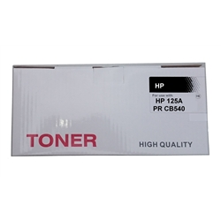 Toner Genérico Preto p/ HP CB540A / Canon 716BK - PRCB540A