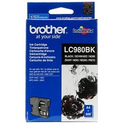 Tinteiro Preto Brother DCP-145C/165C / MFC-250C/290C - LC980BK