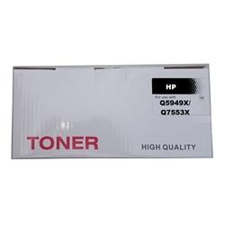 Toner Genérico p/ HP Q5949X/Q7553X e CANON 708H/715H - PRHPQ5949X/Q7553X