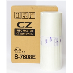Master Riso CZ - A4 - 2 uni. - S7608