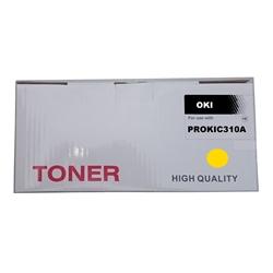 Toner Compatível Amarelo p/ OKI C310/330/500/510/530 - PROKIC310A
