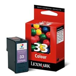 Tinteiro Cores Lexmark Color JetPrinter Z800/Z81 - LEX33 - 18CX033E