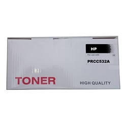 Toner Laser Compatível HP - Amarelo - CC532A/CANON 718Y - PRCC532A