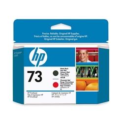 Cabeça Preto e Vermelho HP DesignJet Z3200 - 130 ml - 73 - CD949A