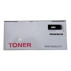 Toner Compatível Preto p/ OKI B420/B430/MB460/470 - 7K - PROKIB430