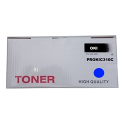 Toner Compatível Cião p/ OKI C310/330/500/510/530 - PROKIC310C