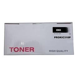 Toner Compatível Preto p/ OKI C310/330/500/510/530 - PROKIC310P