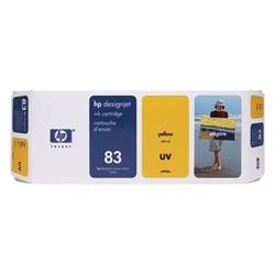 Tinteiro Amarelo HP DesignJet 5000/5000PS - UV - 83 - HPC4943A