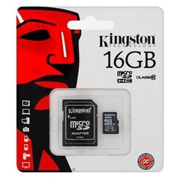Cartão de Memória Kingston SDHC 16Gb - KINGSDHC16GB