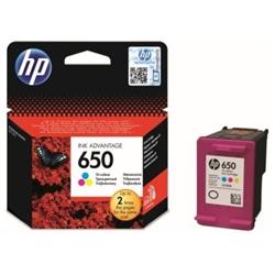 Tinteiro Cores HP Deskjet Ink Advantage série 1010 - 650 C - CZ102A