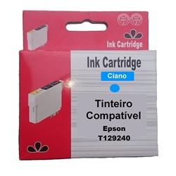 Tinteiro Compatível Cião p/ Epson T129240 - PRT129240