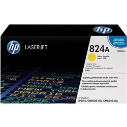 Tambor Laser HP LaserJet CP6015/CM6030 - Amarelo - CB386A