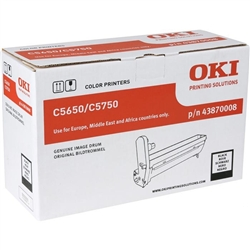 Tambor Laser Oki C5650/5750 - Preto - - OKITOC5650P