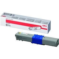 Toner Laser Oki Okipage C310/MC351/361 - Amarelo - - OKIC310A